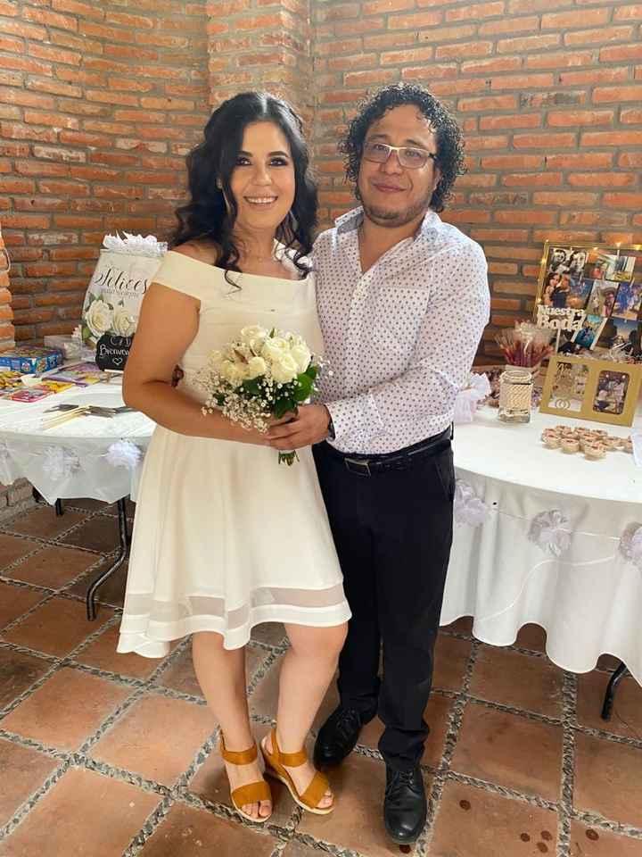 Casados por el civil!! - 2