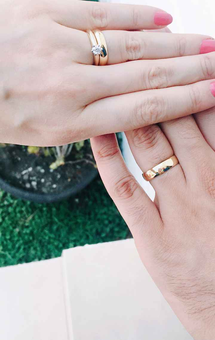 Cómo deben ser los anillos de matrimonio? - 1
