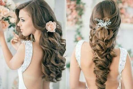 Peinado con cabello suelto o recogido Foro Belleza bodascommx
