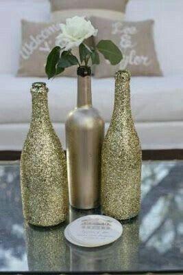 Botellas decoradas!!! - 2
