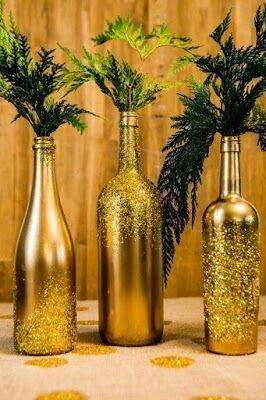 Botellas decoradas!!! - 3