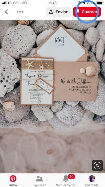 Ideas de invitaciones/ boda en la playa 41