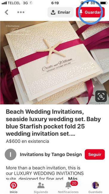 Ideas de invitaciones/ boda en la playa 44