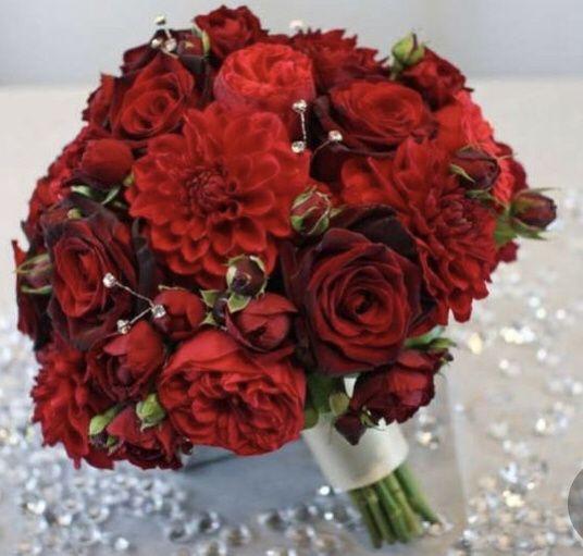 Ramos en color rojo ❤️ 8