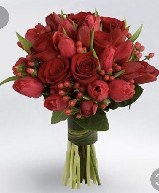 Ramos en color rojo ❤️ 6
