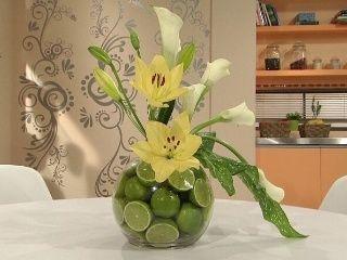 Centros de mesa con frutas decoraci n foro organizar - Frutas artificiales para decoracion ...
