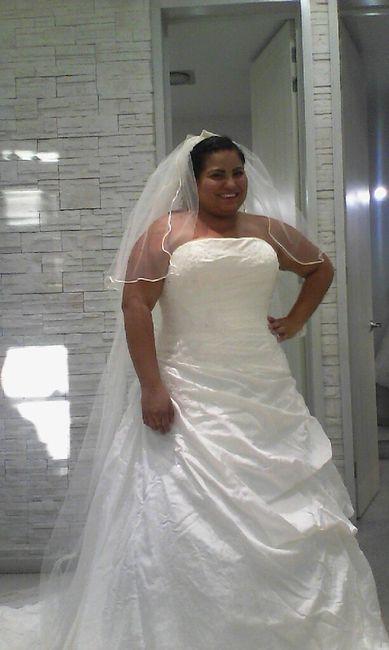 cambio de vestido a ultima hora - foro antes de la boda - bodas.mx