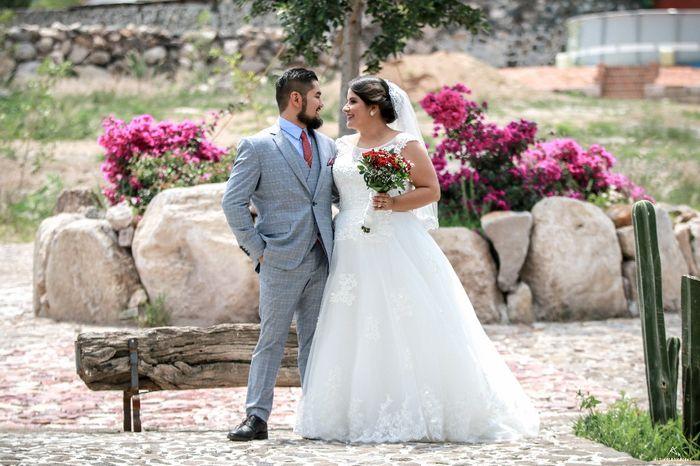 Comparte la foto favorita de tu boda 1