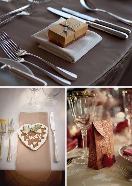 Detalle para plato fotos organizar una boda comunidad - Detalles para decorar la casa ...