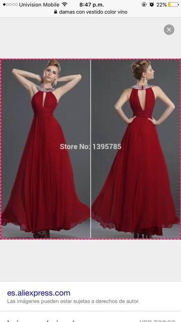 Vestidos de dama de honor df centro