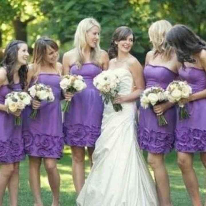 Vestido de damas en color lila! 💜💜 - 2