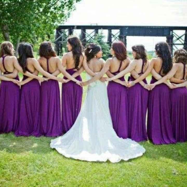 Vestido de damas en color lila! 💜💜 - 3