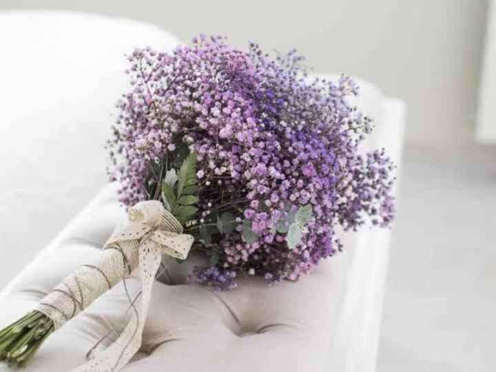 Ramos con flores moradas 🌈💜 - 2