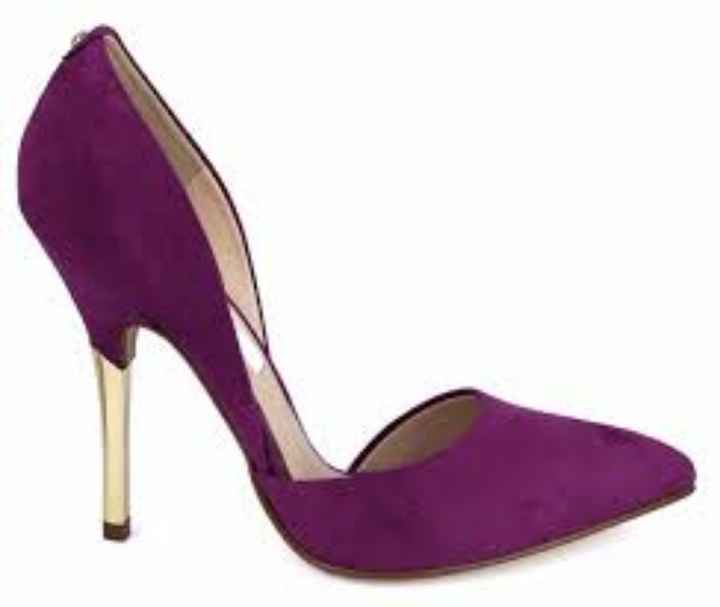Zapatillas en color morado 🌈💜 - 1