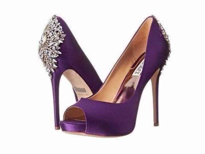Zapatillas en color morado 🌈💜 - 4