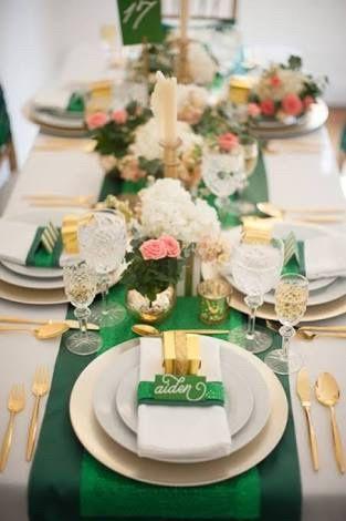ideas boda verde y dorado!!! - foro organizar una boda - bodas.mx