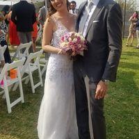 Nuestra boda civil!