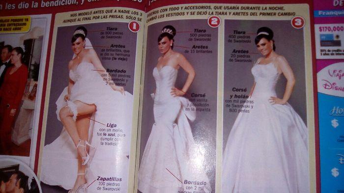 los 4 vestidos de novia de maribel guardia