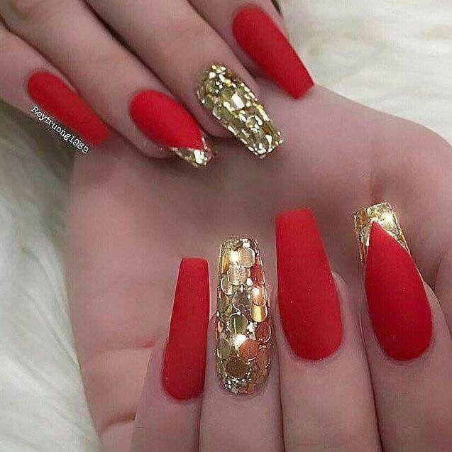 Uñas En Color Rojo Foro Belleza Bodascommx