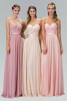 5baa46ab3 Vestidos de damas de honor en color rosa - Foro Moda Nupcial - bodas ...