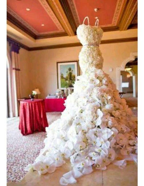 043317204f Un vestido de novia hecho con flores naturales - Foro Moda Nupcial ...