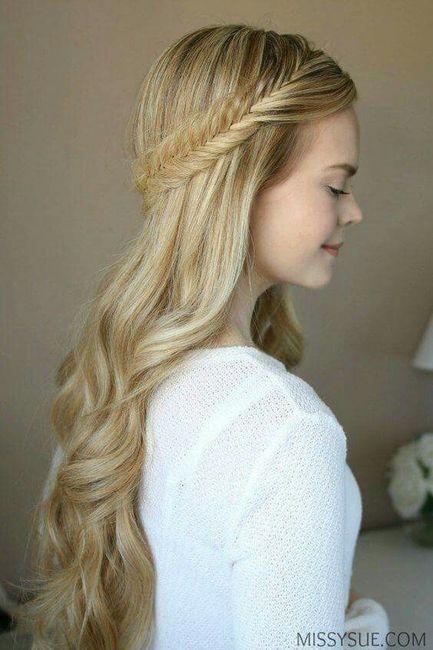 Tu Peinadotrenzas Con Cabello Suelto Foro Belleza Bodascommx - Peinados-con-trenzas-y-pelo-suelto