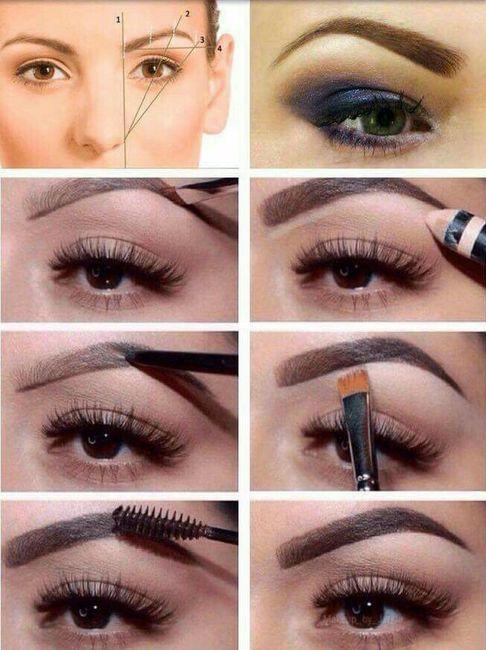 Maquillaje :las cejas perfectas 19