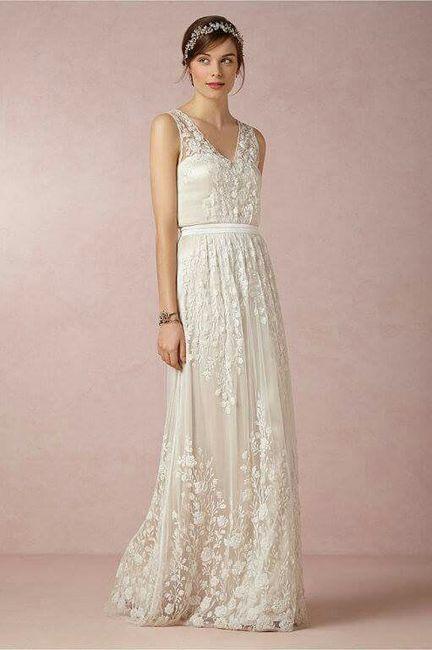 vestido vintage para tu boda civil - foro moda nupcial - bodas.mx