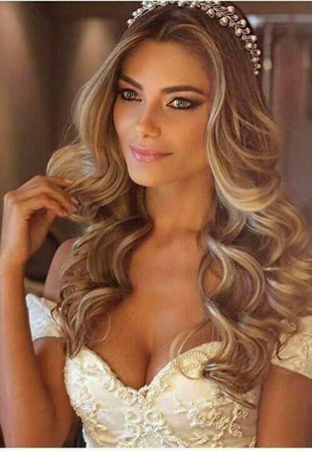 Peinado Cabello Suelto Con Ondas Foro Belleza Bodas Com Mx