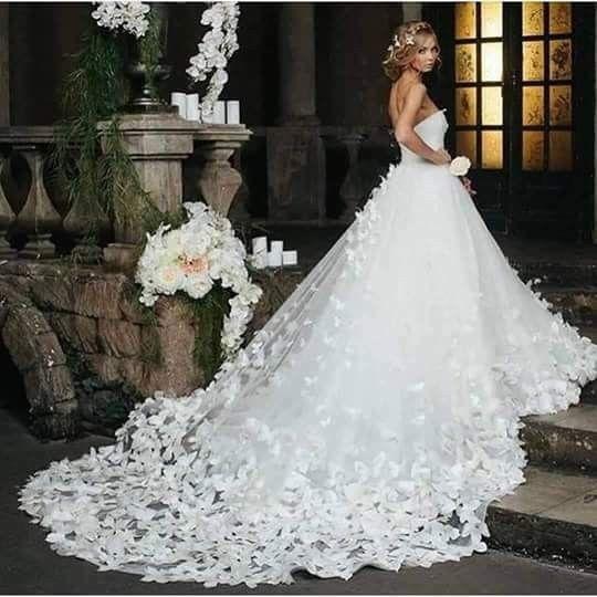 Vestidos de novia con mariposas