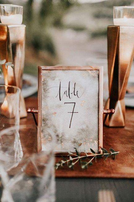 ¡Que tu boda brille!:en cobre 4