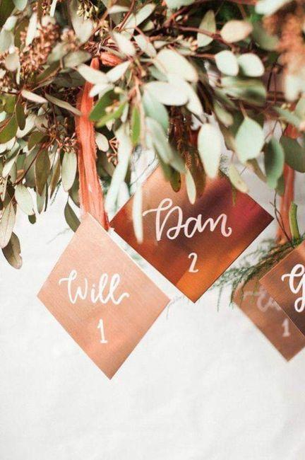 ¡Que tu boda brille!:en cobre 9