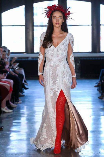 ec3146475 Vestidos para novias modernas 2019👰 - Foro Moda Nupcial - bodas.com.mx