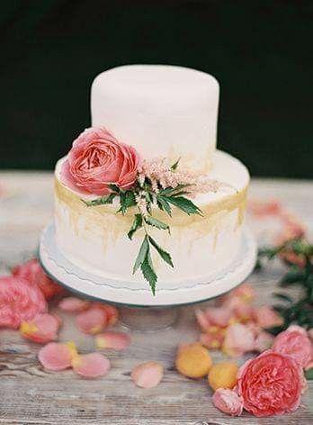 Pasteles con un toque floral 🍰🌼🌻🌷🌹 2