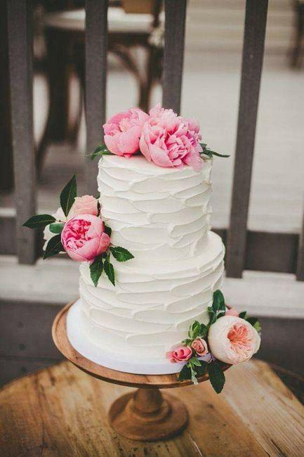 Pasteles con un toque floral 🍰🌼🌻🌷🌹 3