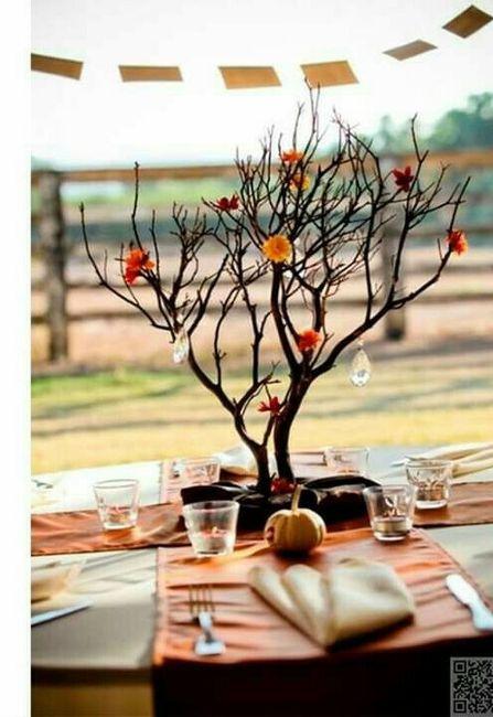 Arbolitos como centros de mesa 4