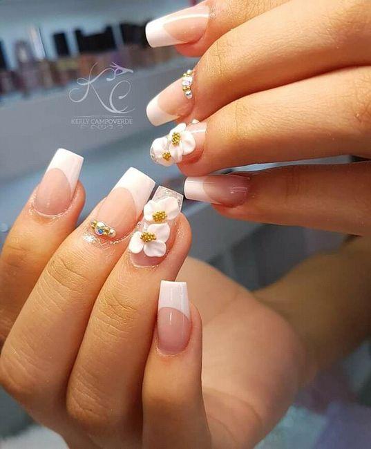 Lindas uñas en tu boda 6