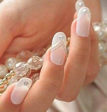 Lindas uñas en tu boda 13