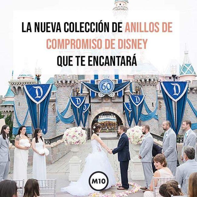 Anillos de compromiso de Disney 💍 1