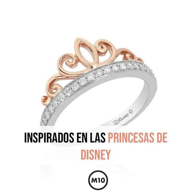 Anillos de compromiso de Disney 💍 3