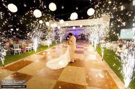 Románticas ideas para una boda en jardín 2