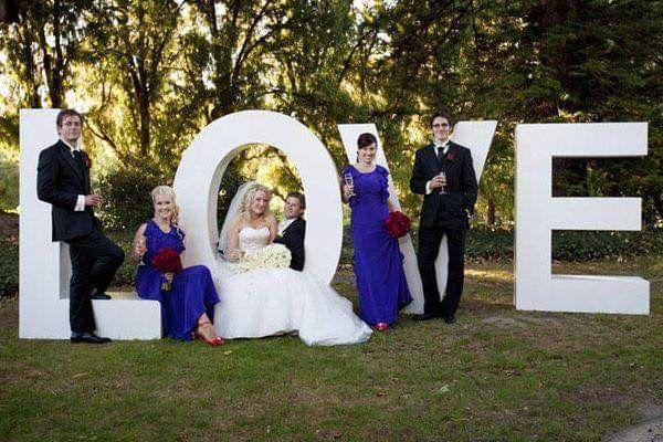 Románticas ideas para una boda en jardín 3