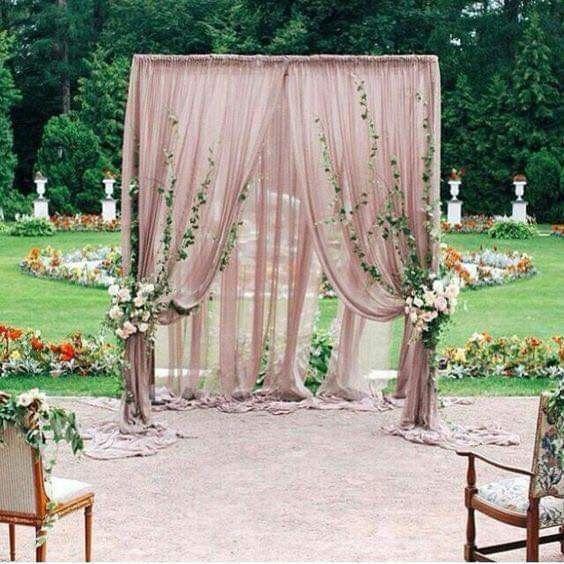Románticas ideas para una boda en jardín 4