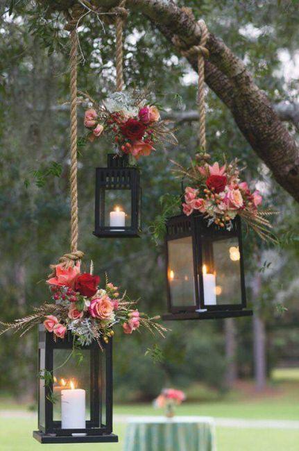 Románticas ideas para una boda en jardín 5