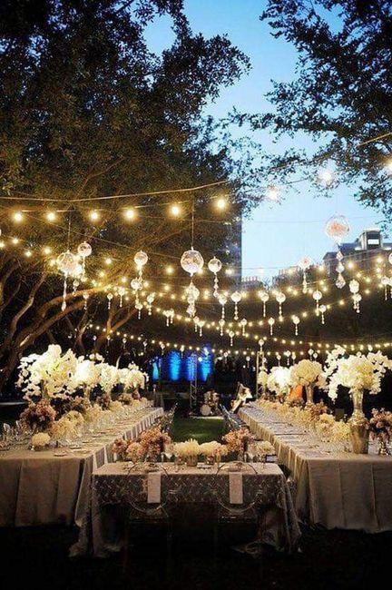 Románticas ideas para una boda en jardín 7