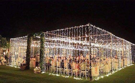 Románticas ideas para una boda en jardín 9