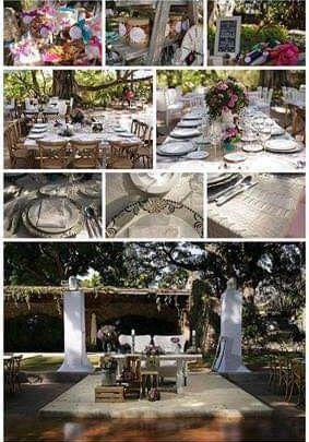 Románticas ideas para una boda en jardín 10