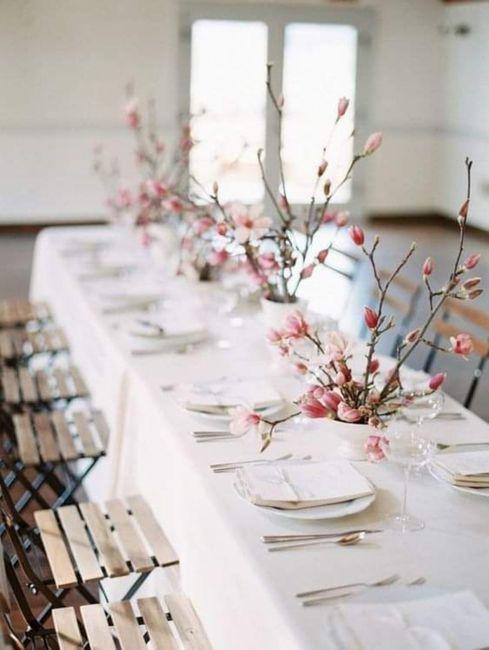 Decoración minimalista: centros de mesa 4