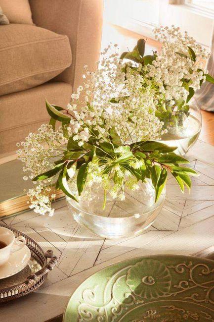 Decoración con flor paniculata 6