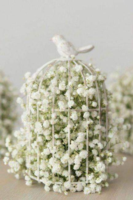 Decoración con flor paniculata 8